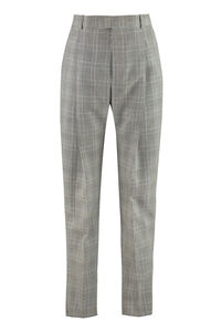 Prince of Wales checked wool trousers, Casual trousers Alexander McQueen man