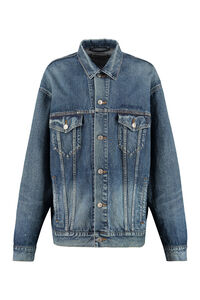 Denim jacket, Denim Jackets Balenciaga woman