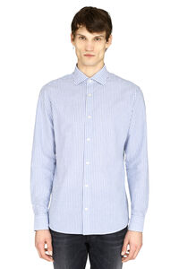 Striped slim fit shirt, Striped Shirts Z Zegna man