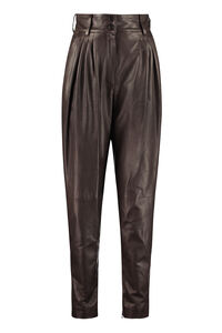 Leather pants, Leather pants Dolce & Gabbana woman