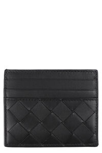 Intrecciato VN card case, Wallets Bottega Veneta man