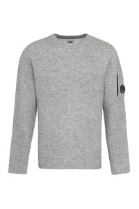 Cotton and wool blend sweater, Crew necks sweaters C.P. Company man