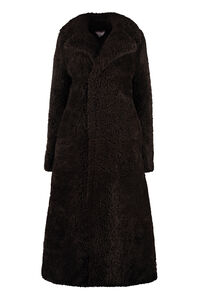 Sheepskin coat with maxi lapels, Faux Fur and Shearling Bottega Veneta woman