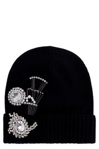 Secco knitted beanie, Hats Pinko woman