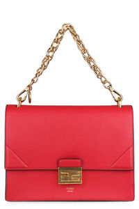 Kan U leather handbag, Top handle Fendi woman