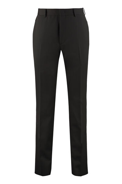 Virgin wool tailored trousers