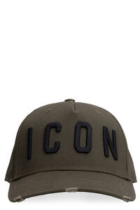 Icon baseball cap, Hats Dsquared2 man