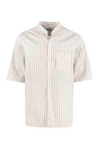 Short sleeve cotton shirt, Short sleeve Shirts Salvatore Ferragamo man