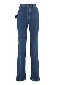 5-pocket jeans, Flared Jeans Bottega Veneta woman