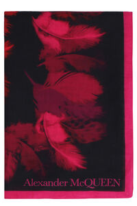 Printed shawl, Scarves Alexander McQueen woman