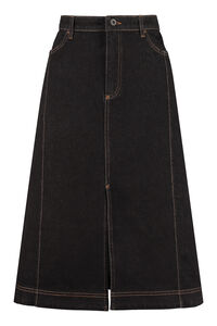 Denim skirt, Denim Skirts Baum und Pferdgarten woman