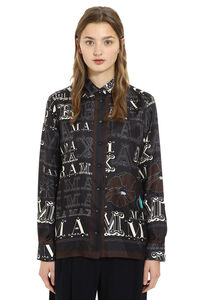 Colomba printed twill shirt, Shirts Max Mara woman