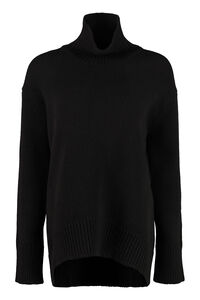 Wool and cachemire turtleneck pullover, Turtleneck sweaters Plan C woman