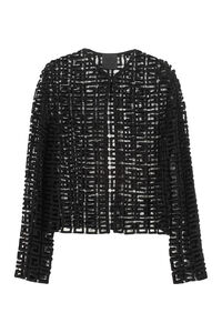 Openwork knit jacket, Casual Jackets Givenchy woman