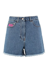 Denim shorts, Denim Shorts GCDS woman