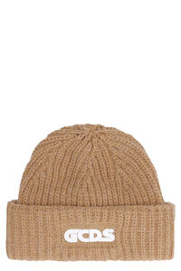 Ribbed knit beanie, Hats GCDS woman
