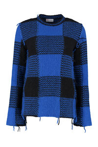 Long sleeve crew-neck sweater, Crew neck sweaters Red Valentino woman