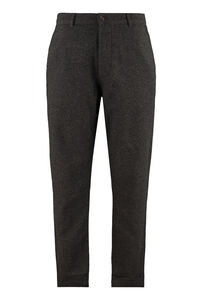 Marl wool blend trousers, Chinos Universal Works man