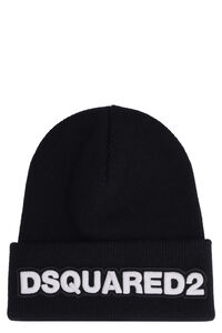 Ribbed knit beanie, Hats Dsquared2 man