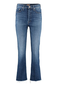 The Tripper Ankle Fray cropped jeans, Cropped Jeans Mother woman