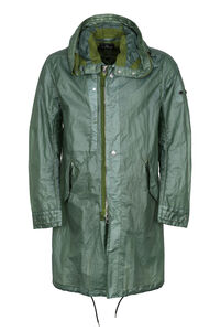 Shadow Project - Hooded techno fabric raincoat, Raincoats And Windbreaker Stone Island man