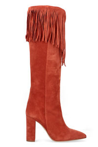 Suede boots, Knee-high Boots Paris Texas woman