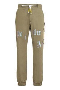 Cotton cargo-trousers, Casual trousers Palm Angels man