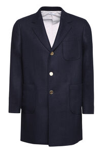 Wool coat, Overcoats Thom Browne man