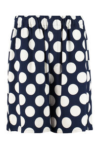 Printed viscose bermuda-shorts, Shorts AMI PARIS man