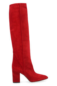 Suede knee-high boots, Knee-high Boots Paris Texas woman