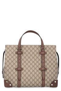 Borsa shopping in tessuto GG Supreme, Tote Gucci man