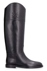 Leather boots, Knee-high Boots Fendi woman