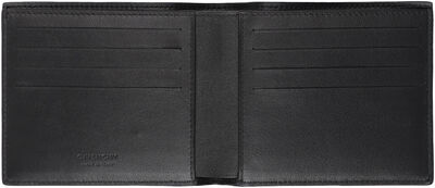Logo detailed leather wallet