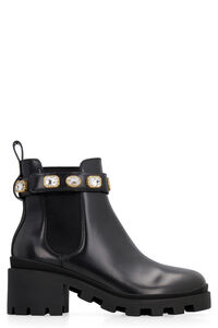 Leather ankle boots, Ankle Boots Gucci woman