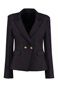 Eulalio double breasted blazer, Blazers Pinko woman