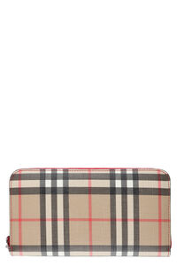 Leather wallet, Wallets Burberry woman