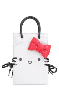 Hello Kitty leather phone holder, Shoulderbag Balenciaga woman