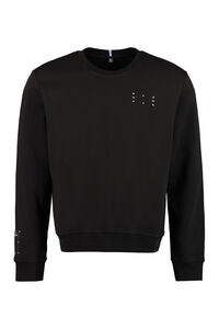 Cotton crew-neck sweatshirt, Sweatshirts MCQ man