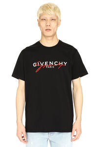Crew-neck cotton T-shirt, Short sleeve t-shirts Givenchy man