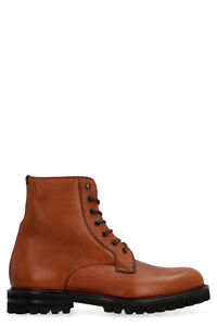 Coalport 2 leather lace-up boots, Lace-up boots Church's man