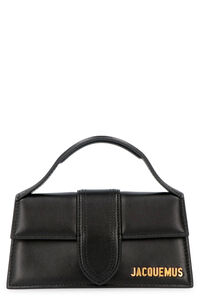 Le grand Bambino leather handbag, Top handle Jacquemus woman