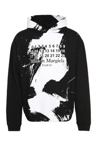 Printed cotton hoodie, Hoodies Maison Margiela man