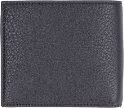 GG detail leather wallet