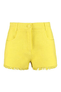 Cotton-linen blend shorts, Shorts MSGM woman
