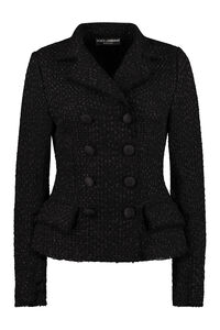 Double-breasted tweed jacket, Blazers Dolce & Gabbana woman