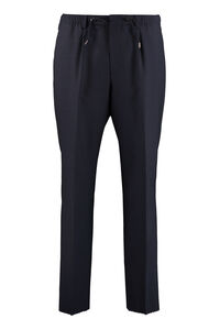 Virgin wool trousers, Casual trousers BOSS man