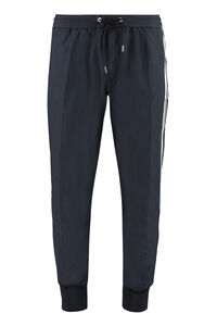 Track-pants with decorative stripes, Track Pants Moncler man