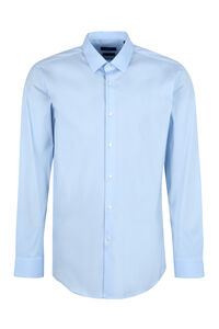Stretch poplin shirt, Plain Shirts BOSS man