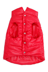 Moncler Poldo Dog Couture vest, red vibes Moncler & Poldo Dog Couture man
