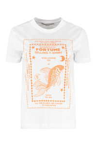 Fish Fortune Telling cotton T-shirt, T-shirts Stella McCartney woman